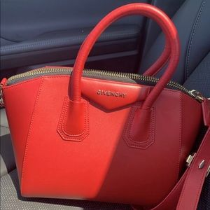 Givenchy red hot purse